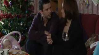 Eastenders - stacey and ryan pretend to be a couple for social services - December 2010