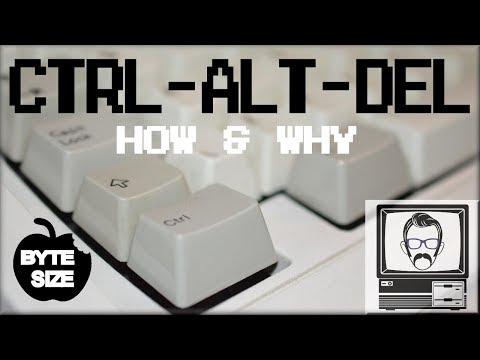Why CTRL ALT DEL? [Byte Size] | Nostalgia Nerd