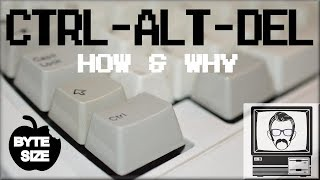 Why CTRL ALT DEL? [Byte Size] | Nostalgia Nerd Video