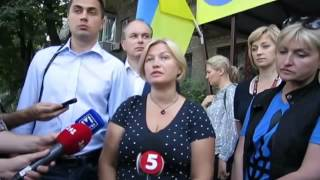 03 09 2014 мариуполь Ирина Геращенко о военной медицине в Украине