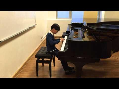 Dimitri Kabalevsky, Variations in D Major Op. 40 No.1