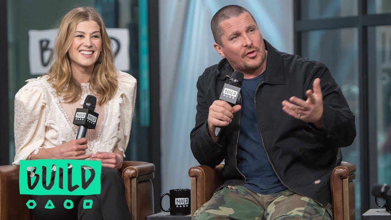 """Download Christian Bale, Rosamund Pike & Wes Studi Speak On """"Hostiles"""""""