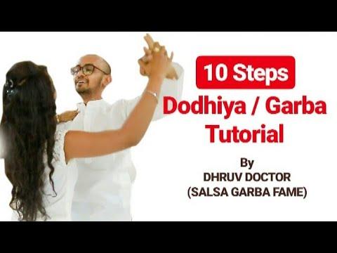 10 Steps Dodhiya/Garba Tutorial | Hand Movements For Beginners | DD-The Dance Factory-Khelaiya Group