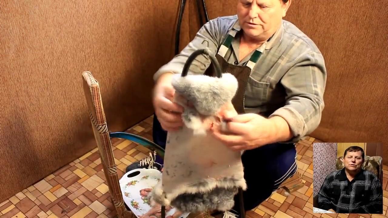выделка шкуры кролика в домашних условиях