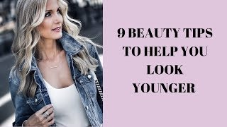 Everyday MakeUp Tutorial | 9 Beauty Tips To Look Younger