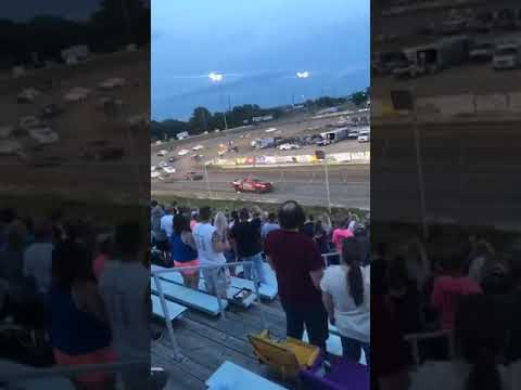 Thumpers 81 speedway  A feature 7/28/18