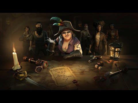 Новый геймплей Sea of Thieves: смена дня и ночи, погода и игровые модели
