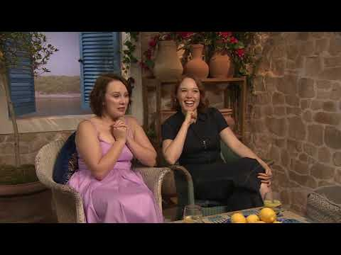 Meet Jessica Keenan Wynn & Alexa Davies Mamma Mia Here we go again interview