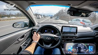 NEW Hyundai Kona 2021   1.0 T-GDI 120 HP   POV Test Drive