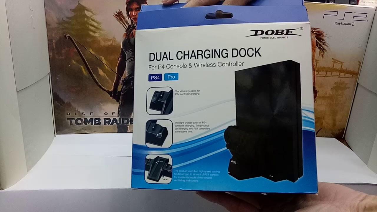 Dual Charging Dock Dobe Youtube Slim Pro