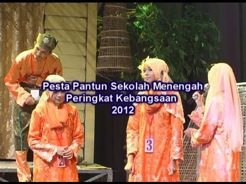 BTPN Terengganu | Pesta Pantun Kebangsaan 2012 Bah. 3/3