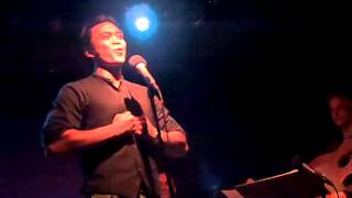 """Jose Llana - """"Hang There, My Verse"""" from HONOR by Pete Mills - Diane Phelan Concert"""