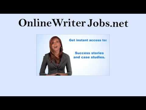 Online Writer Jobs-