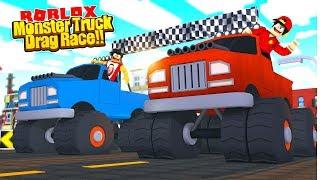 ROBLOX - MONSTER TRUCK DRAG RACE!!!