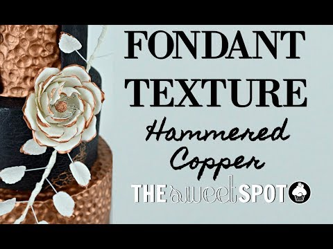 Hammered Copper Texture Tutorial | The Sweet Spot