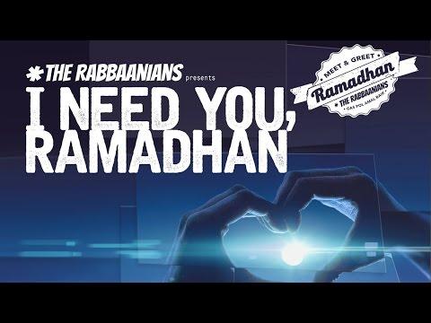 I NEED YOU RAMADHAN - UST. SUBHAN BAWAZIER