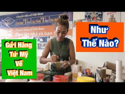 gửi hàng đi mỹ - Gửi Hàng Từ Mỹ Về Việt Nam Như Thế Nào?♻️Live In The U.S♻️