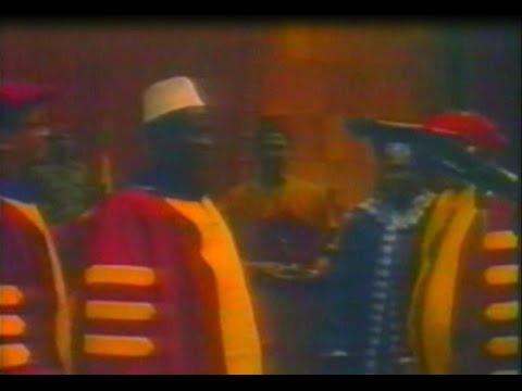 Guinea - Lansana Conte - Honorary Degree - 1996 - Part 1