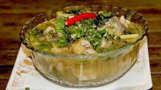 របៀបធ្វើងាំង៉ូវមាន់ | Pickled Lime Soup - មេផ្ទះ (Housewife)