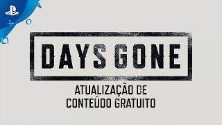 Days Gone - Atualização de conteúdo gratuito em Português | PS4