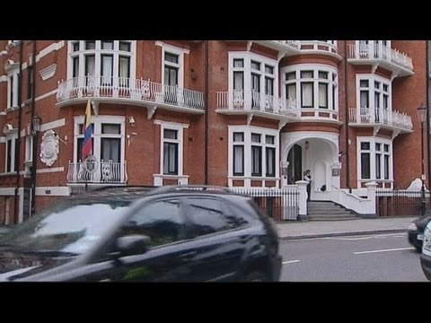 Julian Assange: Hidden microphone discovered at London's Ecuador embassy
