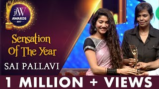 Sai Pallavi at JFW Awards 2017  Freedom is Important  Sensation Of The Year  JFW Magazine