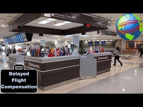 Getting money for delayed flights | How the European Union Flight Compensation Regulation works