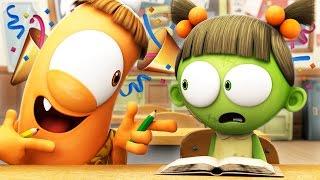 Funny Animated Cartoon 🎉 SPOOKIZ NEW SEASON 🎉 SCHOOLS OUT! 🎉 스푸키즈   Cartoon for Kids