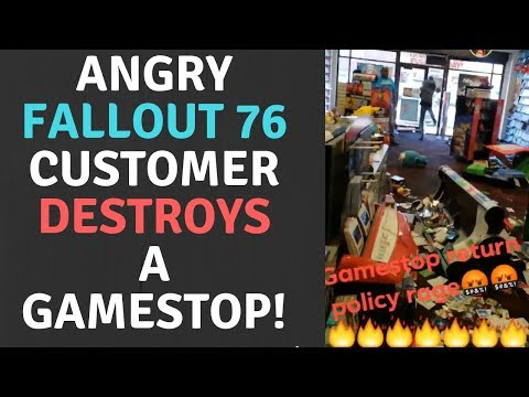 Angry Fallout 76 Nutcase Freaks Out & Destroys A Gamestop