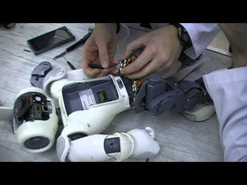 NAO ROBOT - REPAIR Part 3