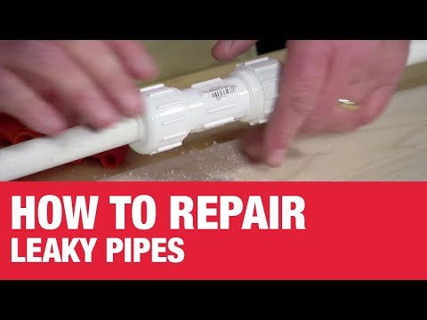 How To Repair Leaky Pipes – Ace Hardware
