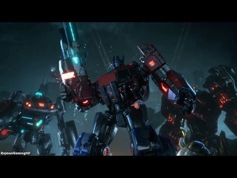 Transformers: Fall of Cybertron 'Debut Trailer' TRUE-HD QUALITY