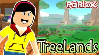 Roblox TreeLands Tycoon - New Resident in Town - Dollastic Plays! - Roblox Minigame
