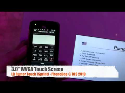 LG Rumor Touch (Sprint) - Hands-On