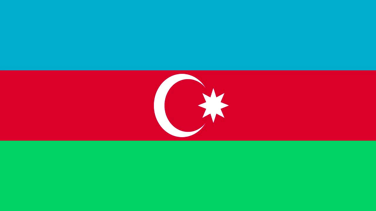 Azerbaijan Flag And Anthem