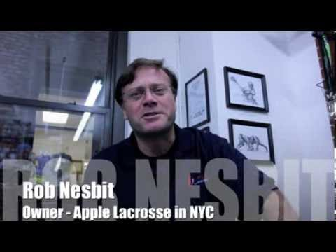 A Visit To NYC's First Lacrosse Store: Apple Lacrosse