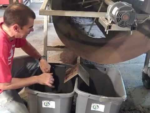 Harvesting Worms at Vermont Vermiculture Worm Farm