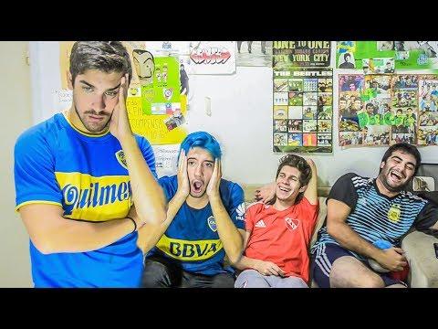 Independiente 1 Boca 0 | Superliga 2018 | Reacciones de amigos