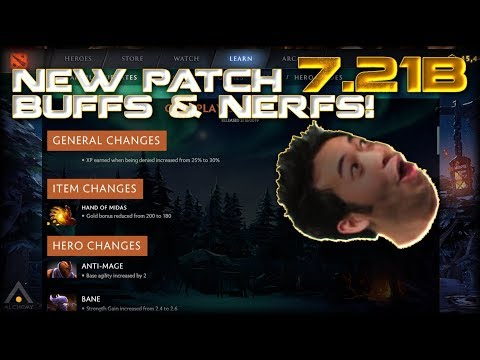 NEW Dota 2 Patch 7.21b: Buffs, Nerfs & First Impressions of the Meta thumbnail