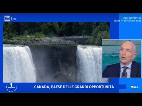 Tutti pazzi per il Canada - Unomattina 23/01/2020