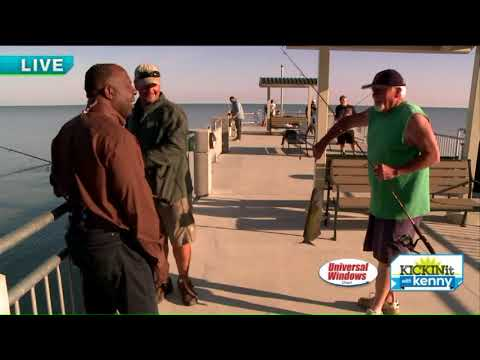 Kenny Explores New Pier In Painesville Township