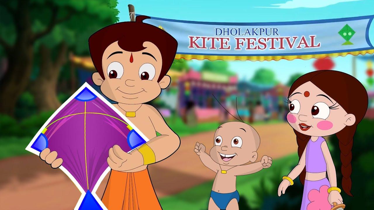 Chhota Bheem- Rangeen Patang Ki Kahani|रंगीन पतंग की कहानी|Dholakpur Kite Festival|Sankranti Special