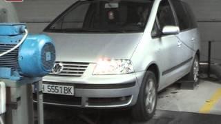 VW Sharan 1.9 TDI 116hp tuning ADLER AUTO Godech Bulgaria Dynojet 224xLC Dyno