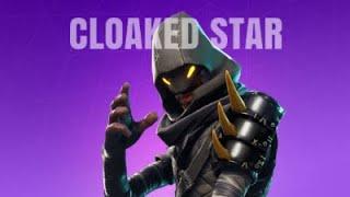 Fortnite l Leaked Cloaked star and Backbone skin gameplay