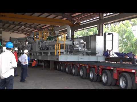 Malaysia Heavy Transport Schenker Gorgon Metering Skid by Lima Bintang