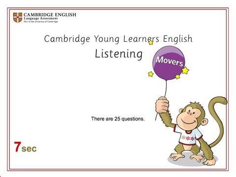 Cambridge Movers Listening test