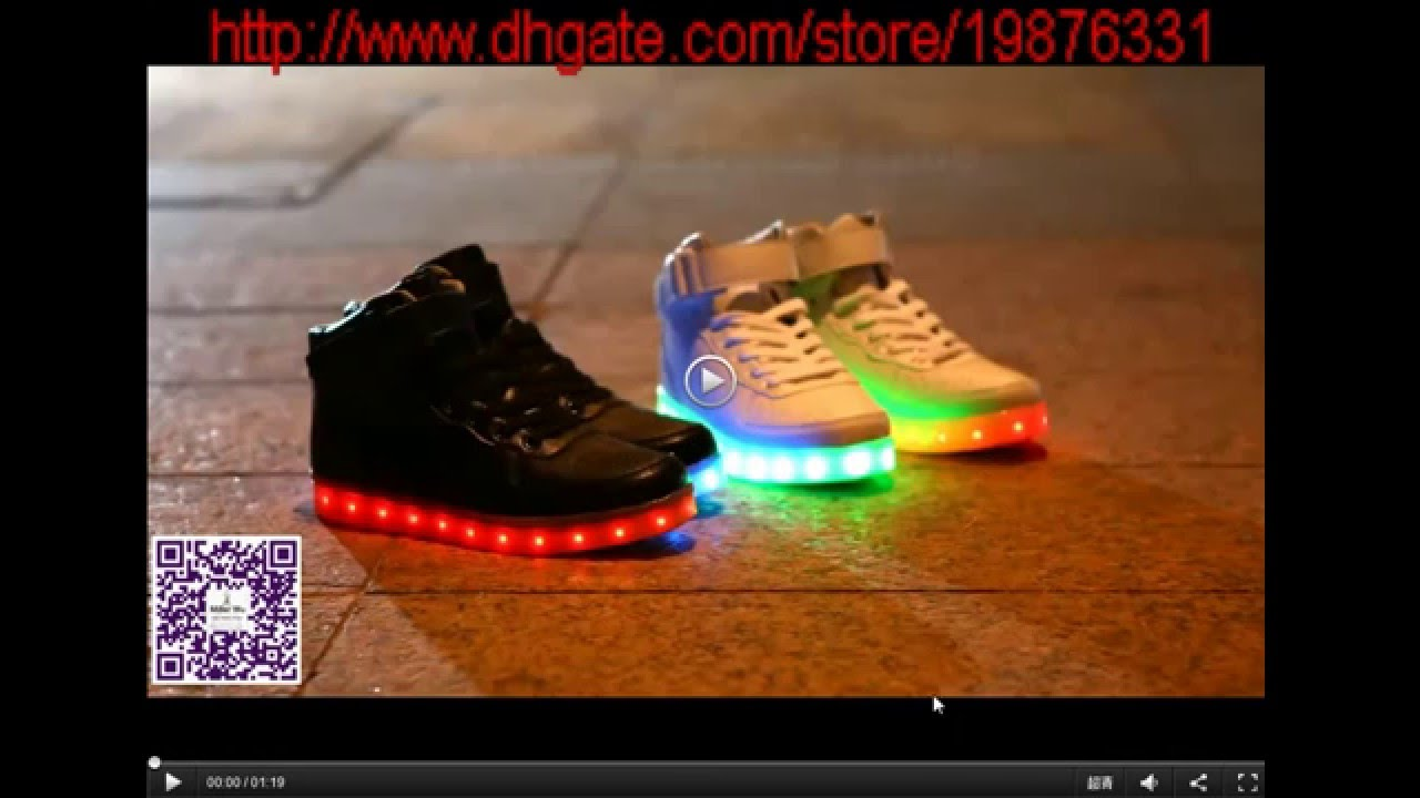 Dashion Led Light Up Sneakers Casual Shoes For Adults Youtube