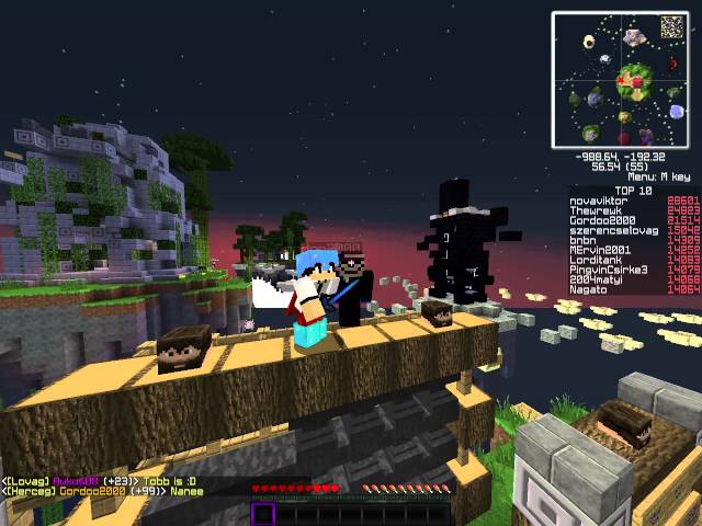 EmpireCraft Selfie /w Gordoo2000 :D