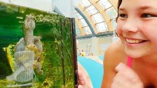 Видео для детей: аквапарк Карибия. Лучшие Подружки. Настя проводит обзор, 1 часть. Москва для детей.(Видео для детей от Насти Митягиной! Обзор аквапарка. Аквапарк