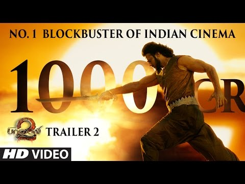 Thumbnail: Baahubali 2 Trailer - No 1 Blockbuster of Indian Cinema || Prabhas,Anushka Shetty,Rana,Tamannaah